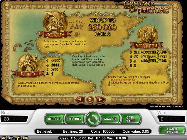 Crusade-of-Fortune-slot-netent-ss