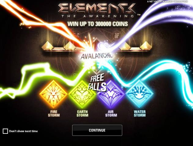 Elements-slot-netent-ss
