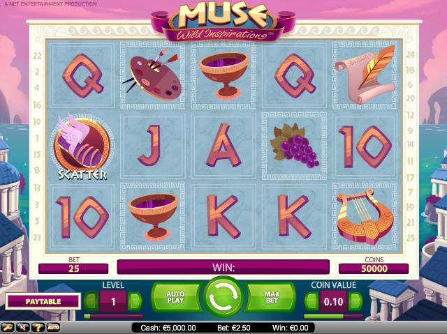 Muse-slot-netent-ss