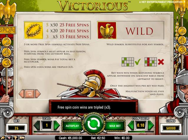 Victorious-slot-netent-ss