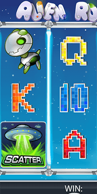 Alien Robots slot netent long