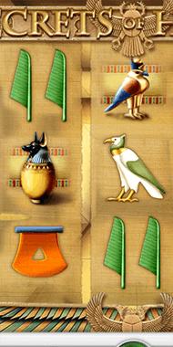 Secrets of Horus slot netent long