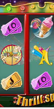 Thrill Spin slot netent long