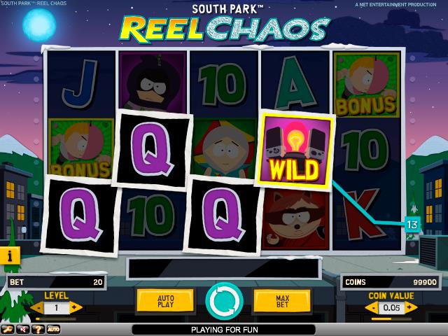 South Park: Reel Chaos NetEnt jocuri slot screenshot
