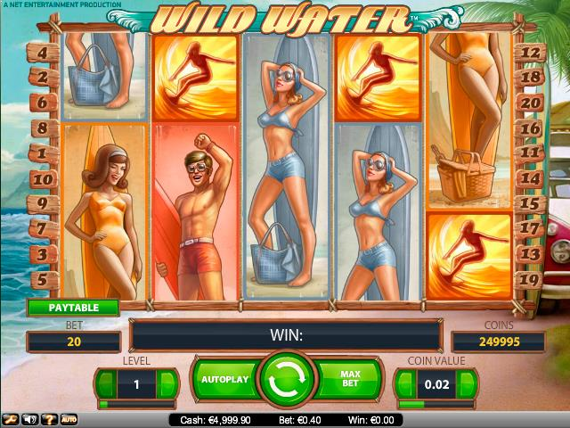 Wild Water NetEnt jocuri slot screenshot
