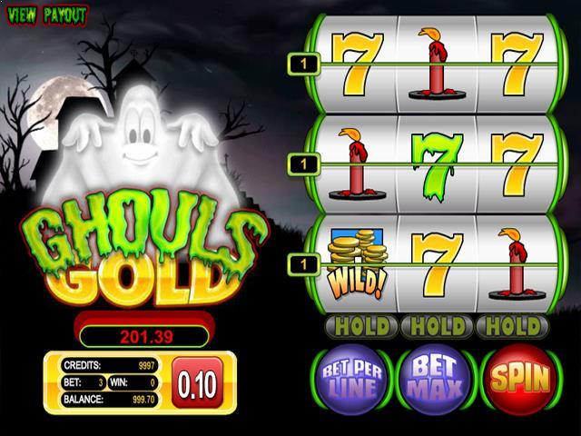 Ghouls Gold netent jocuri slot screenshot