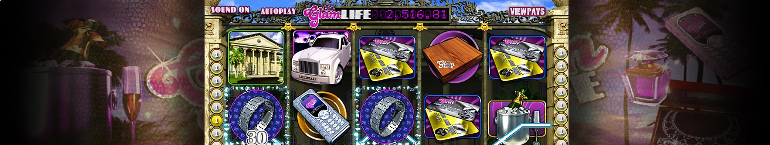 Glam Life betsoft jocuri slot slider