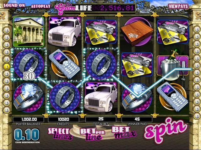 Glam Life netent jocuri slot screenshot
