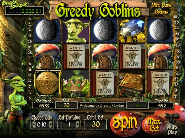 Greedy Goblins netent jocuri slot screenshot