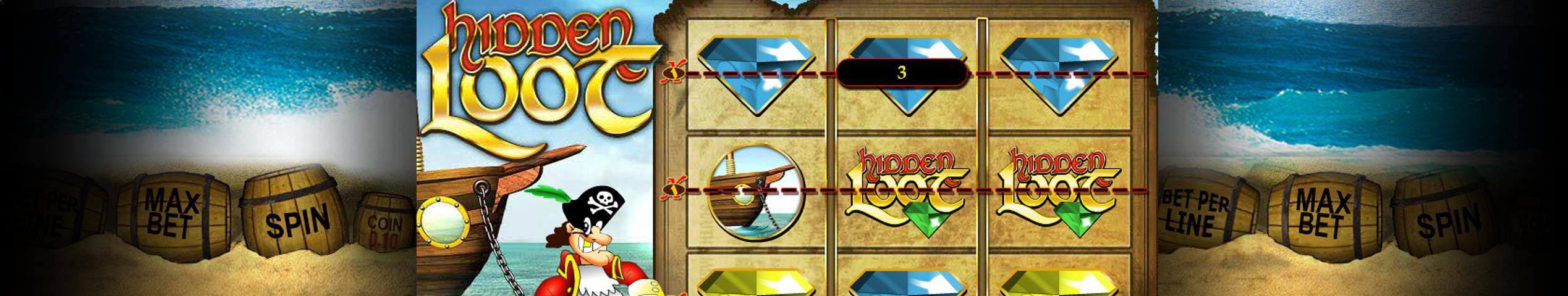Hidden Loot betsoftt jocuri slot slider