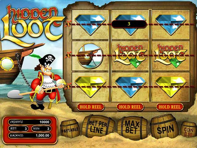 Hidden Loot netent jocuri slot screenshot