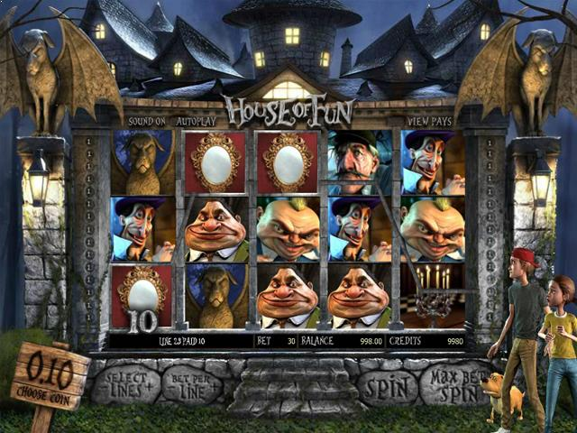 House of Fun netent jocuri slot screenshot