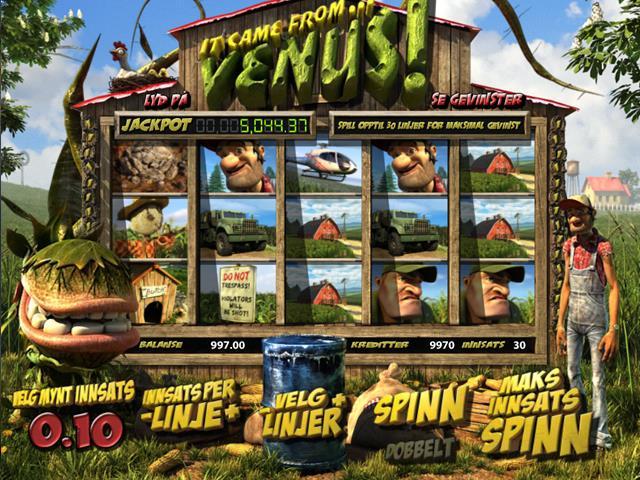 It Came From Venus JP Plus netent jocuri slot screenshot
