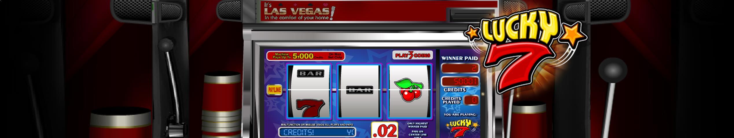 Lucky Seven betsoft jocuri slot slider