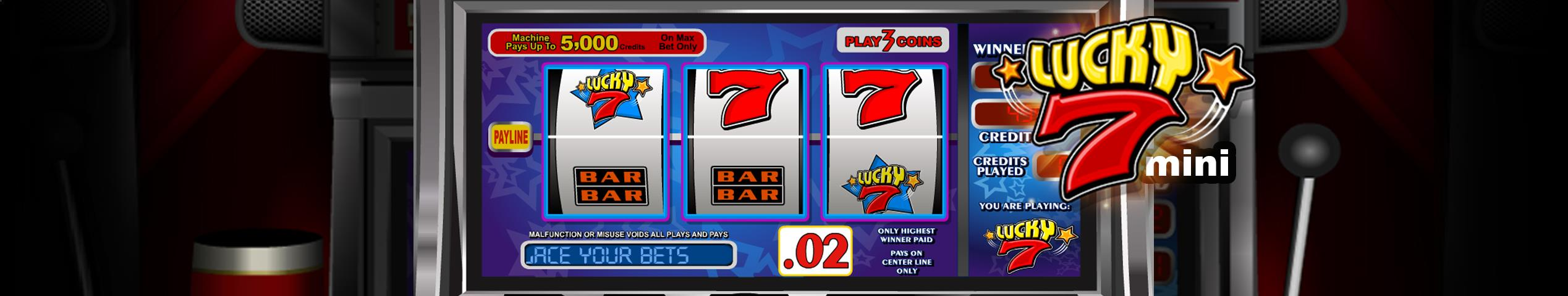 Lucky7 Mini betsoft jocuri slot slider