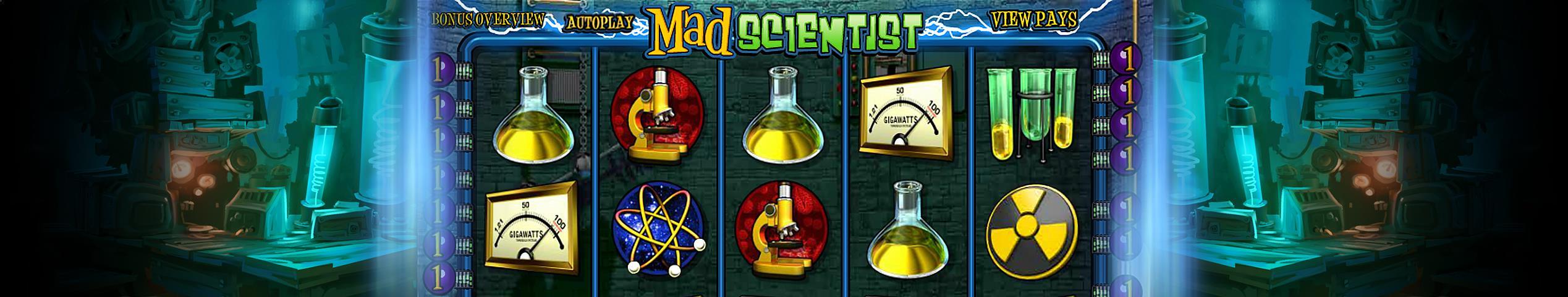 Mad Scientist betsoft jocuri slot slider