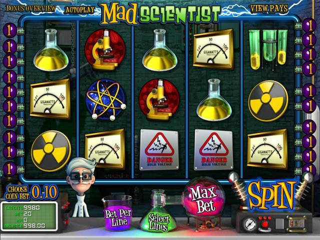 Mad Scientist netent jocuri slot screenshot