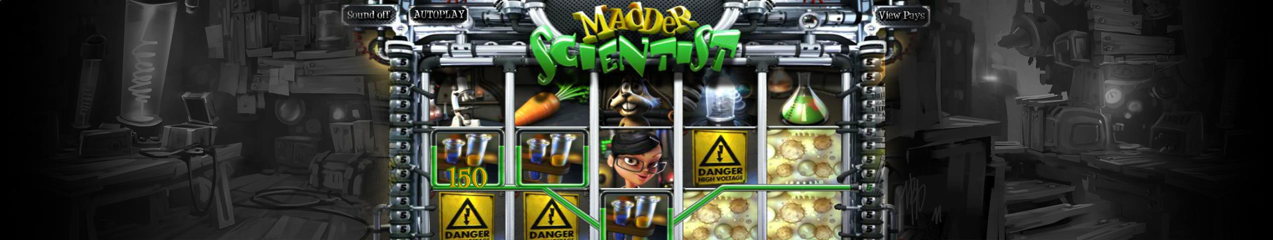 Madder Scientist betsoft jocuri slot slider