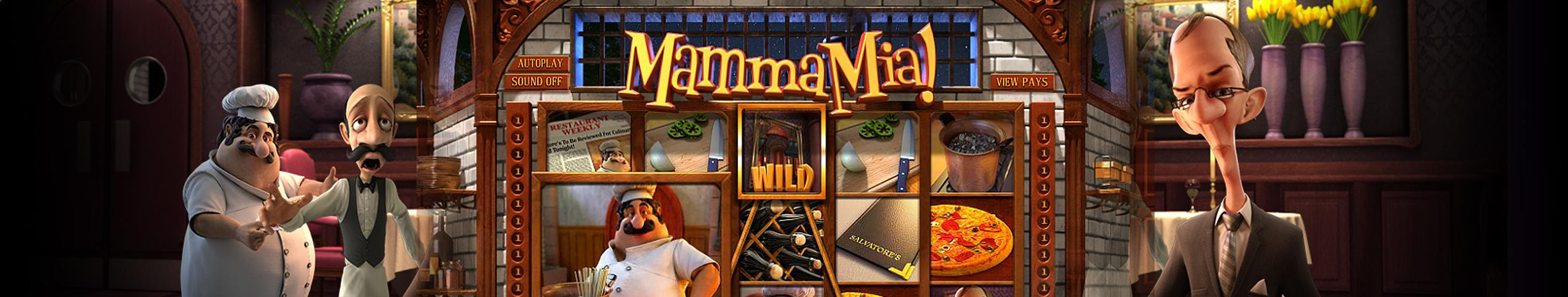 Mamma Mia betsoft jocuri slot slider