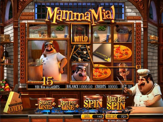 Mamma Mia netent jocuri slot screenshot