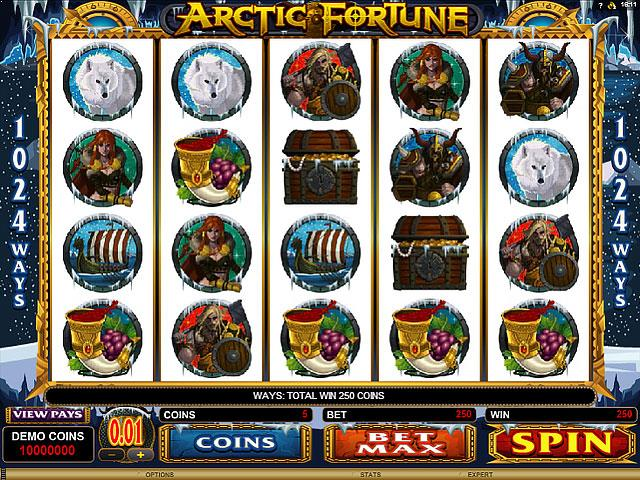 Arctic Fortune Microgaming jocuri slot screenshot