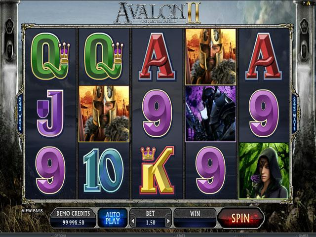 Avalon II Microgaming jocuri slot screenshot