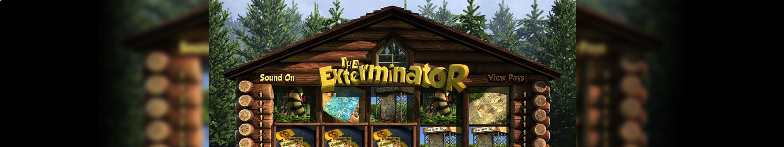 The Exterminator Betsoft jocuri slot slider