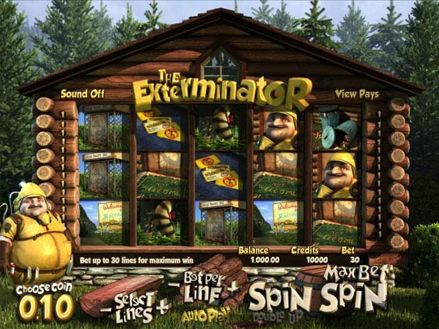 The Exterminator Betsoft jocuri slot screenshot