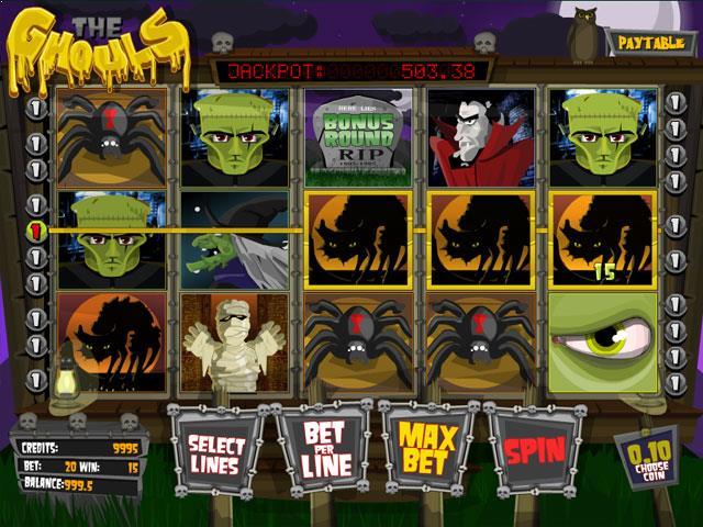 The Ghouls Mini Betsoft jocuri slot screenshot