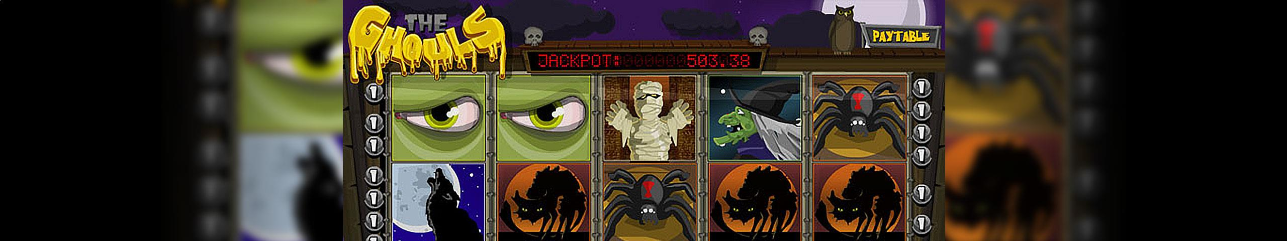 The Ghouls Betsoft jocuri slot slider