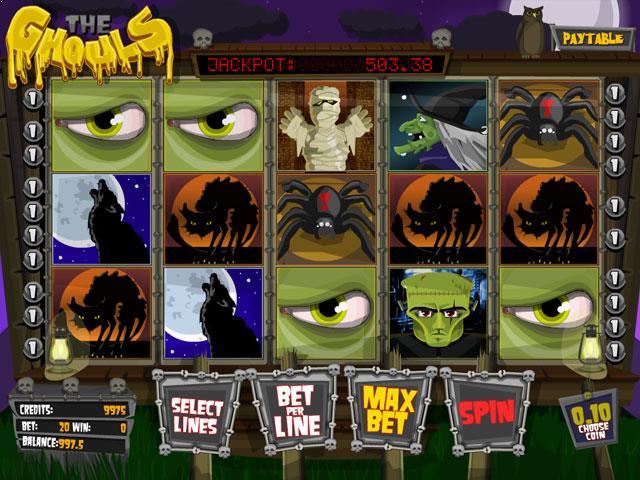 The Ghouls Betsoft jocuri slot screenshot