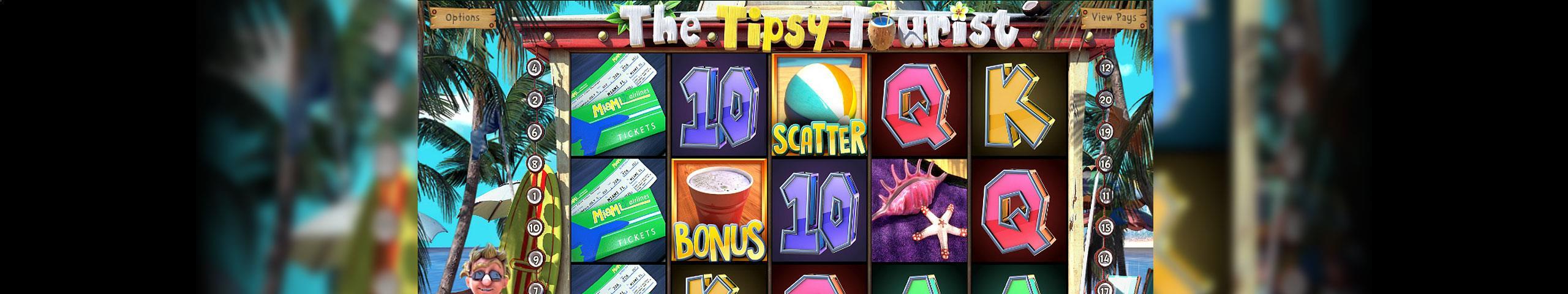 The Tipsy Tourist Betsoft jocuri slot slider