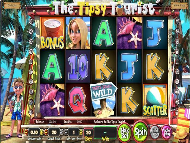 The Tipsy Tourist Betsoft jocuri slot screenshot