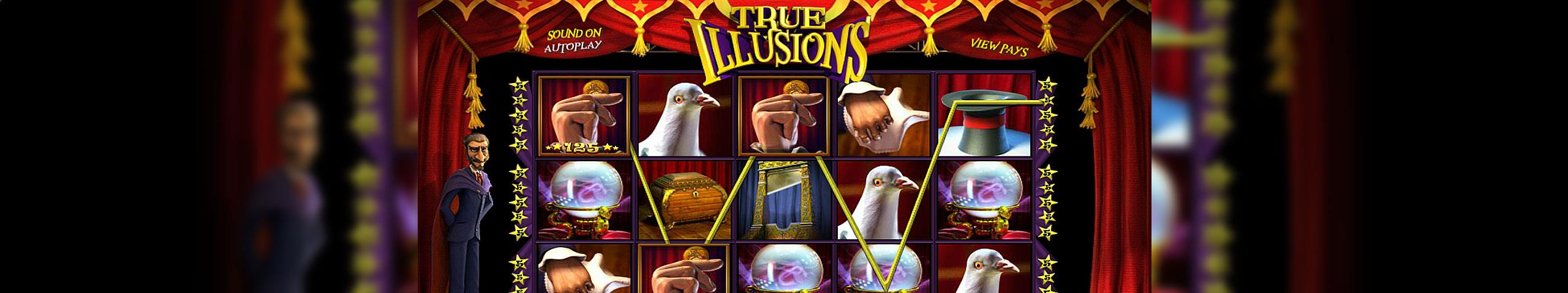 True Illusions Betsoft jocuri slot slider