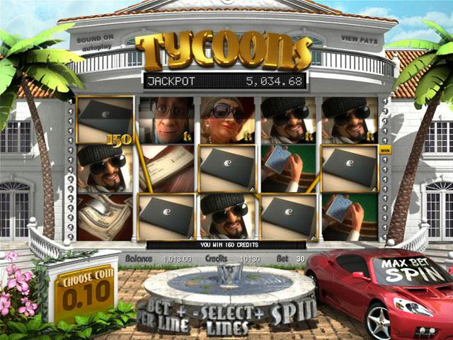 Tycoons Plus Betsoft jocuri slot screenshot