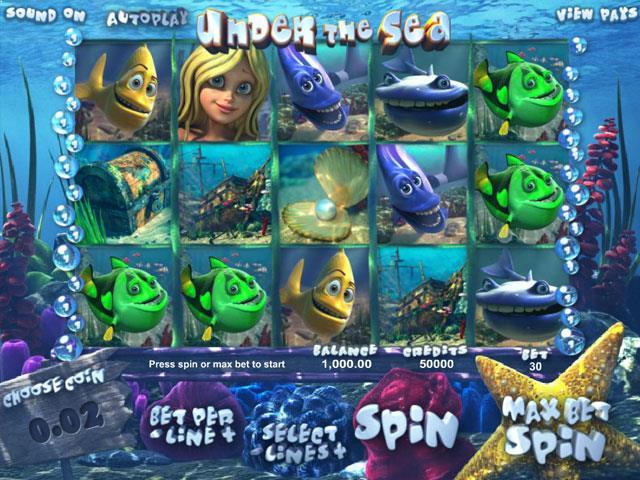 Under the Sea Betsoft jocuri slot screenshot