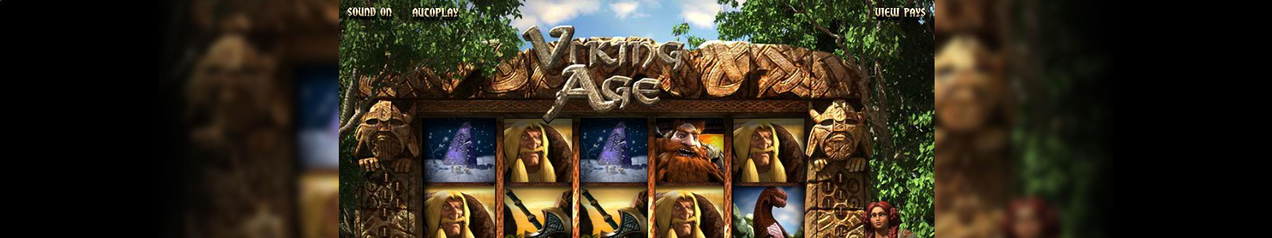 Viking Age Betsoft jocuri slot slider