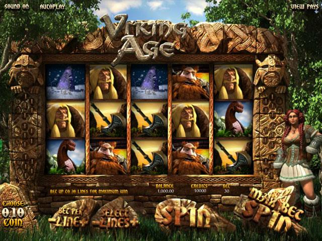 Viking Age Betsoft jocuri slot screenshot