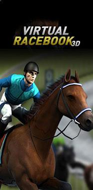 Virtual Racebook 3D Betsoft jocuri slot thumbnail