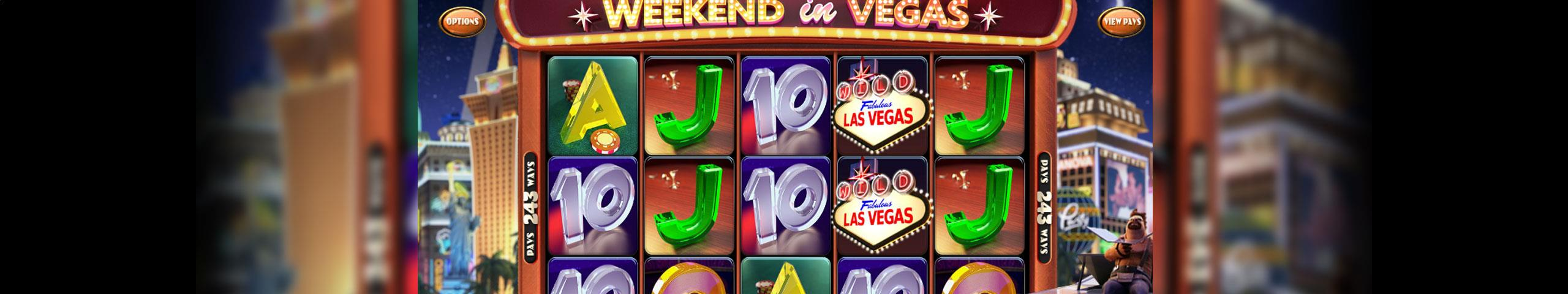 Weekend In Vegas Betsoft jocuri slot slider