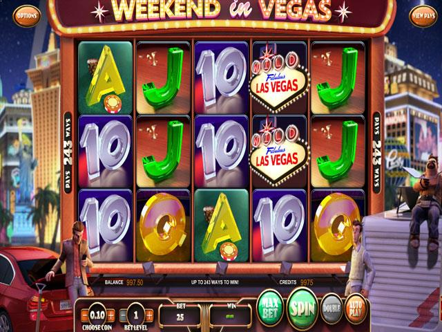 Weekend In Vegas Betsoft jocuri slot screenshot