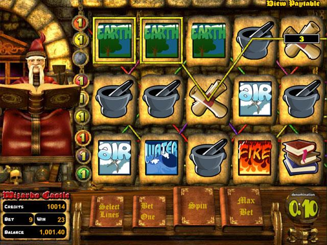 Wizard's Castle Betsoft jocuri slot screenshot