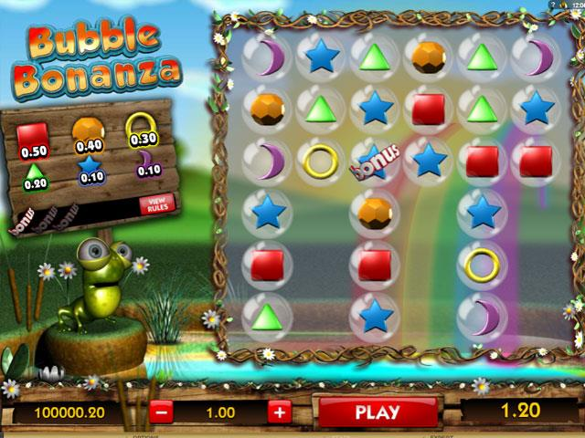 Bubble Bonanza Microgaming jocuri slot screenshot
