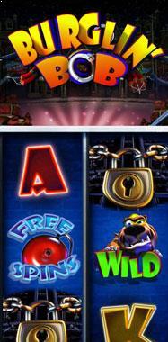 Burglin Bob Microgaming jocuri slot thumbnail