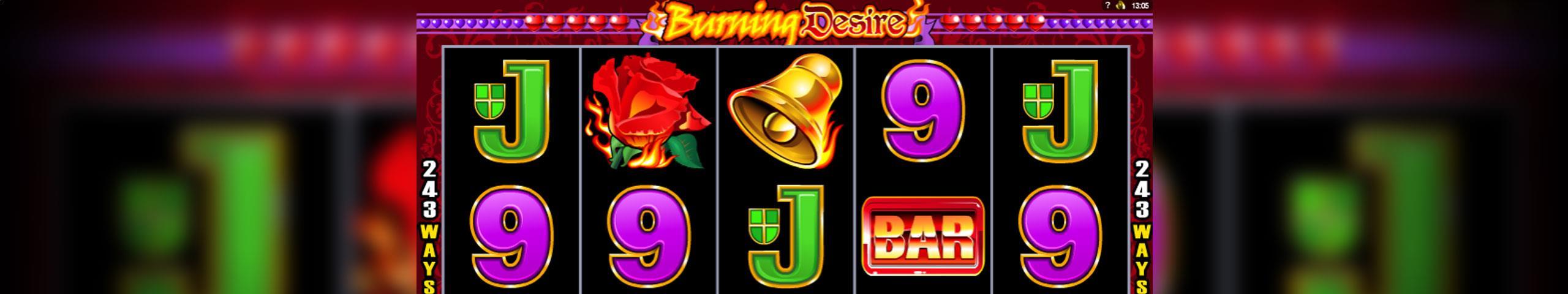 Burning Desire Microgaming jocuri slot slider