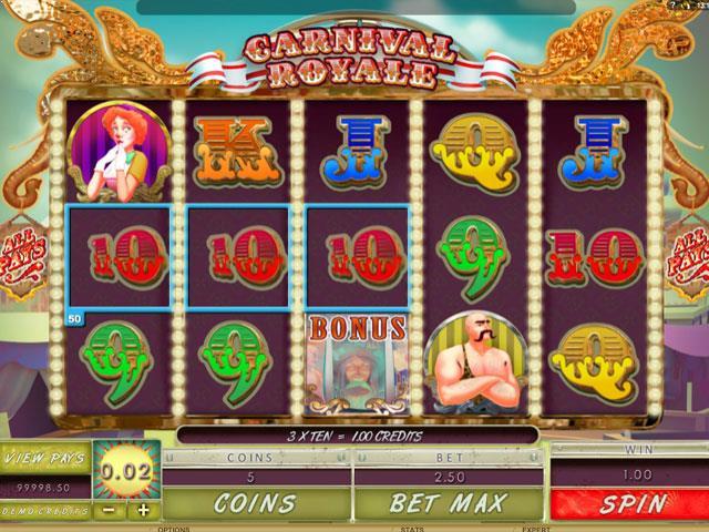 Carnival Royale Microgaming jocuri slot screenshot