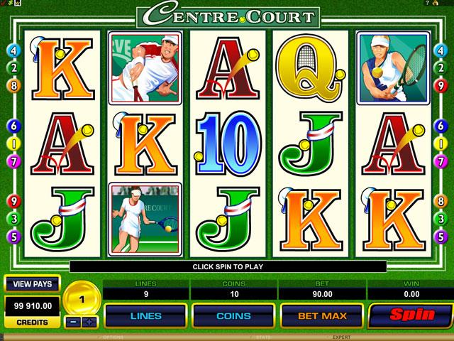 Centre Court Microgaming jocuri slot screenshot