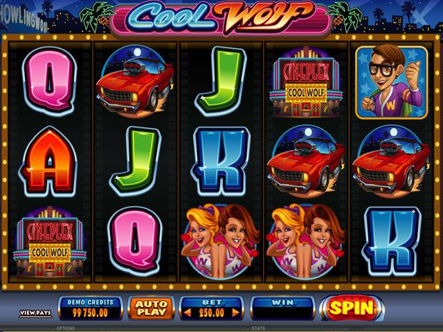 Cool Wolf Microgaming jocuri slot screenshot