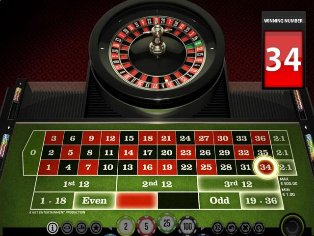 NetEnt European Roulette Multabafta screenshot