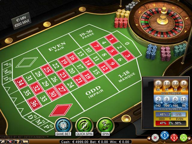 NetEnt French Roulette Pro Multabafta screenshot